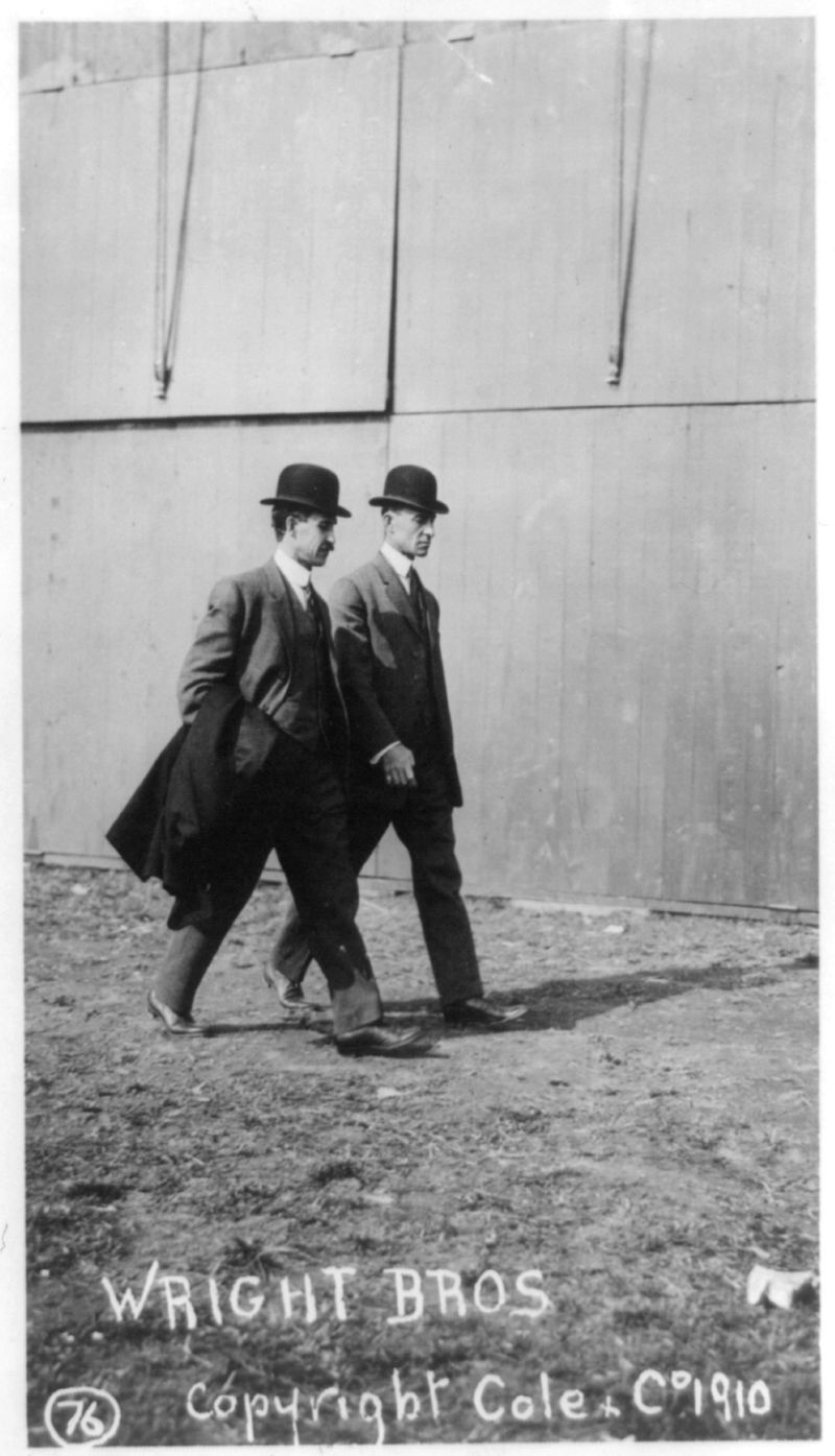 Belmont. Wright Brothers. 1910